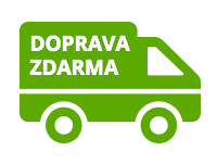 Při nákupu nad 2000 Kč doprava zdarma po celé ČR
